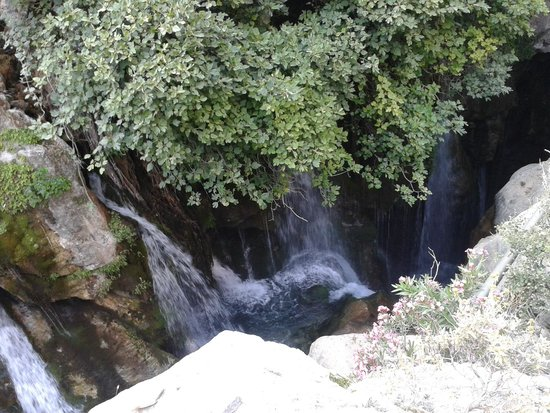 The lagoon with more waterfalls from springs - Picture of ...