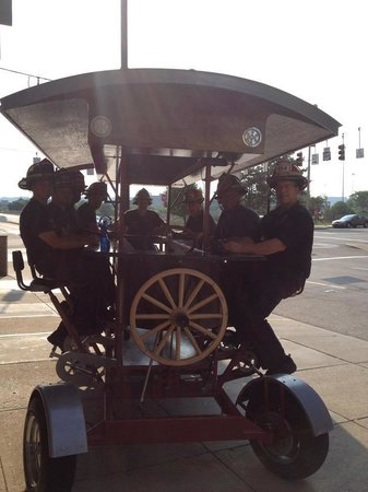 Another Great Crew On The Pedal Wagon Picture Of