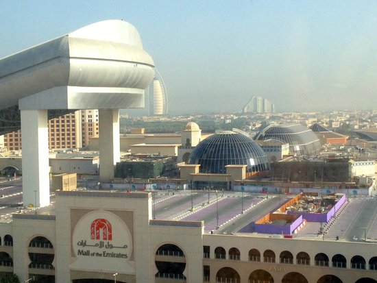 mall of emirates seen from my window picture of doubletree by hilton hotel residences dubai. Black Bedroom Furniture Sets. Home Design Ideas