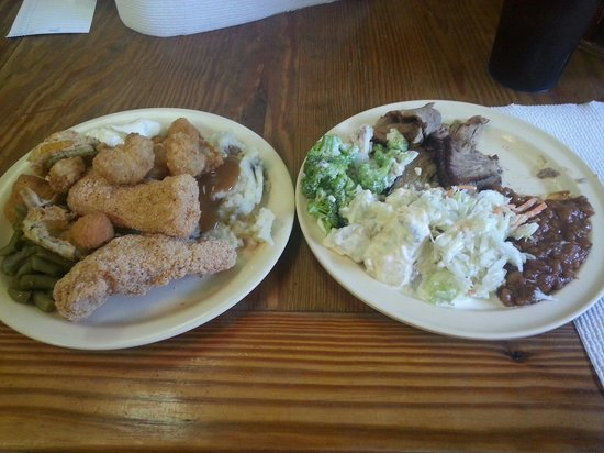 ... potato salad, fried okra, fr - Picture of Seymour, Missouri