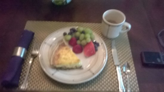 Parkside House : Best quiche I've ever eaten and I'm a trained chef!
