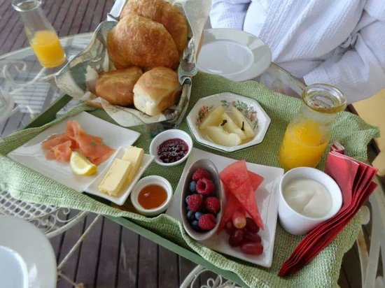 Dalblair Bed and Breakfast: French Breakfast