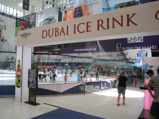 Dubai Ice Rink Dubai Mall Dubai Ice Rink in Dubai Mall