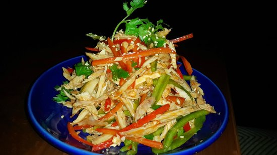 Sichuan style chicken & coriander salad - Picture of China House ...