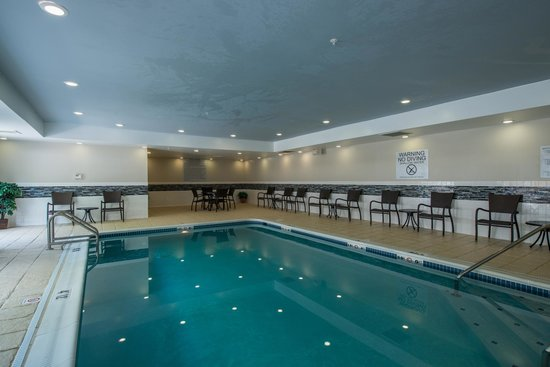 Indoor Swimming Pool Picture Of Fairfield Inn Suites Indianapolis Northwest Indianapolis