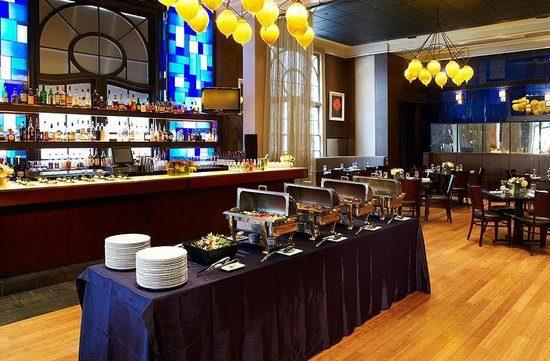 City Table - Buffet Style Set-up - Picture of Lenox Hotel ...