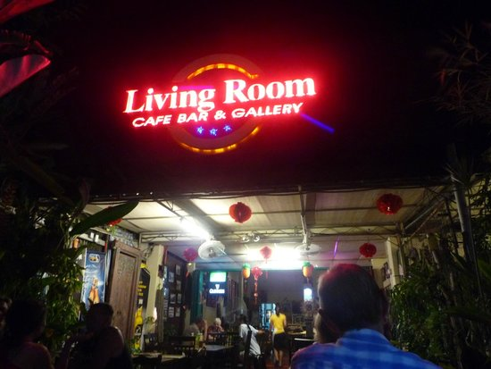 Living room sign picture of living room cafe bar for Living room cafe bar gallery