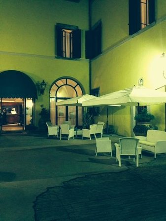 Villa Sonnino: one of the courtyards
