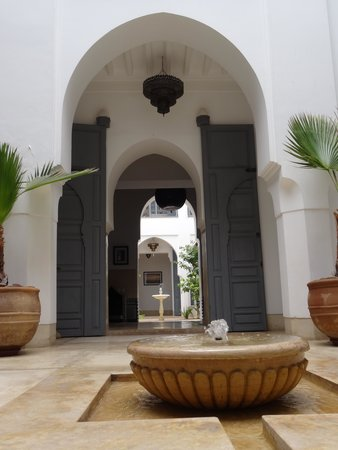 Riad Adore: The view from the pool