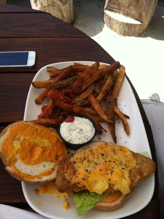 MacDowell Brew Kitchen: Fish sandwich