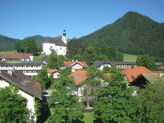 Ruhpolding Germany  city photo : Ruhpolding, Germany: View of St Georg from hotel