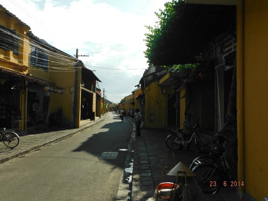 Hoi An Ancient Town: One of the streets with plenty of shopping available