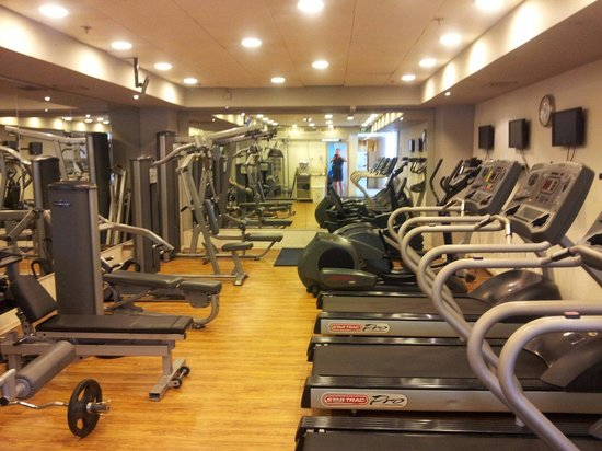 Gym costs nis extra picture of crowne plaza tel aviv