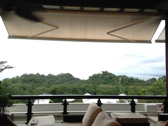 Gaia Hotel & Reserve: View from restaurant