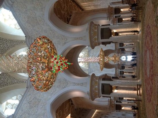 So Beautiful Picture Of Sheikh Zayed Grand Mosque Center