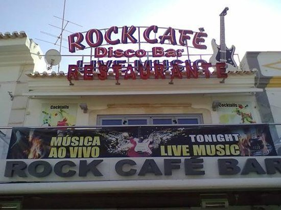 Rock Cafe Albufeira Old Town