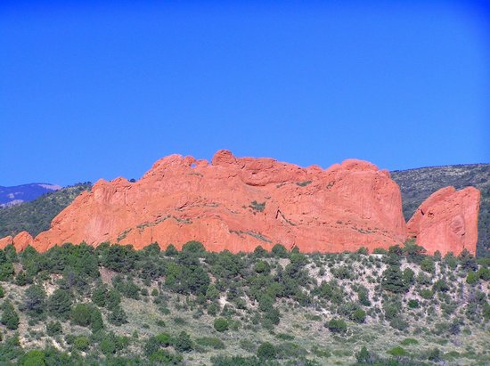 Rock Cathedral Spires Picture Of Garden Of The Gods