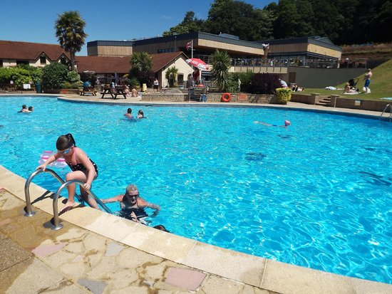The View Of The Pool Function Rooms Picture Of Cofton Country Holidays Dawlish Tripadvisor