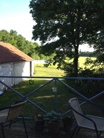 Bryrup, Denmark: View from the B&B deck