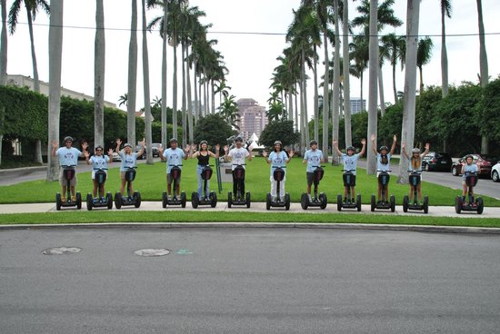 USA Segway Tours. Discover the United States on one of these Segway tours. Experience the sights and sounds of the USA's cities, towns and landmarks with an up-close and personal tour on the Segway.