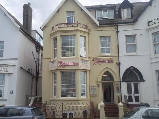 Manhattan Hotel Blackpool Reviews