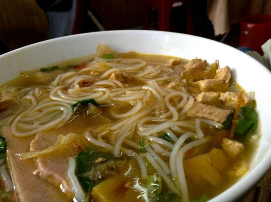 how to make bun rieu chay