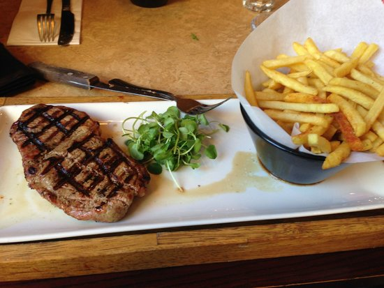 Steak and frites london