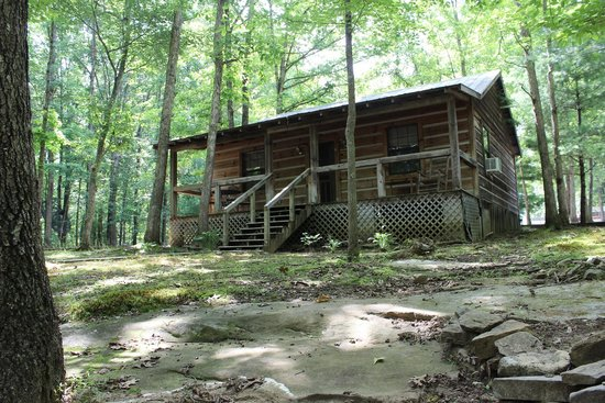 Bath House Picture Of Davy Crockett Campground