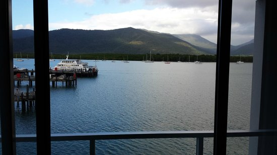 Cairns Harbour Lights: View from balcony
