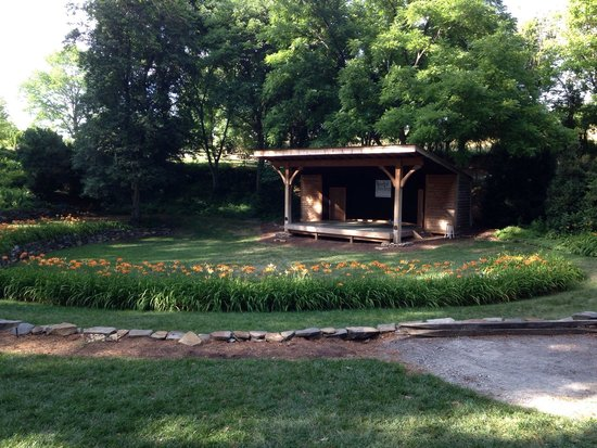Nesselrod Bed and Breakfast: Amphitheater