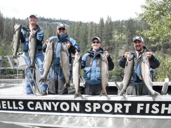 Hells Canyon Sport Fishing