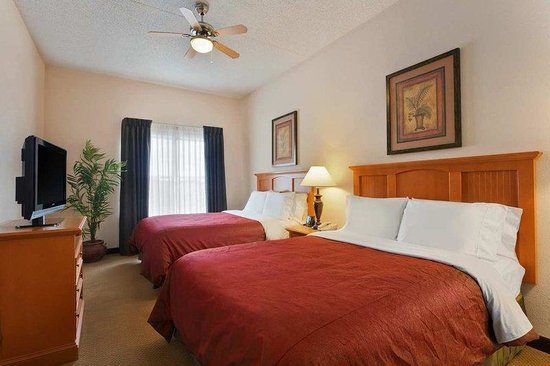 2 Bedroom 2 Bath Suite Beds Picture Of Homewood Suites By Hilton Colorado Springs Airport