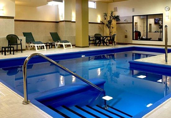 Indoor Pool Picture Of Fairfield Inn Suites Montreal Airport Montreal Tripadvisor