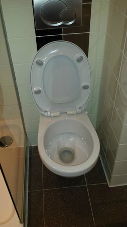 WestCord City Centre Hotel Amsterdam: Toilet in tiny space