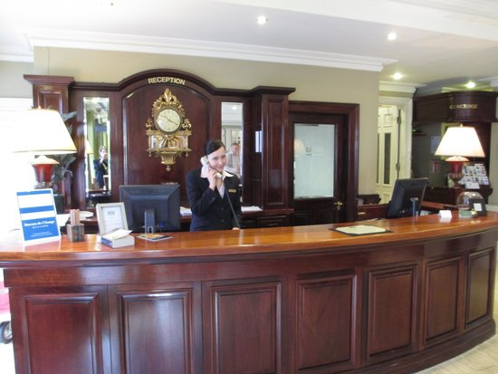 Brooks Hotel: Your first impression - welcoming staff