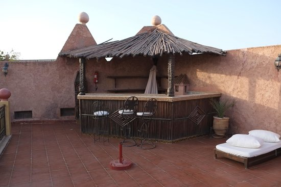 Kasbah Le Mirage: Roof bar never opened