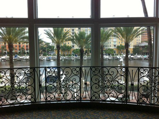 Tampa Marriott Waterside Hotel and Marina: view of channel