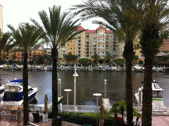 Tampa Marriott Waterside Hotel and Marina: channelside