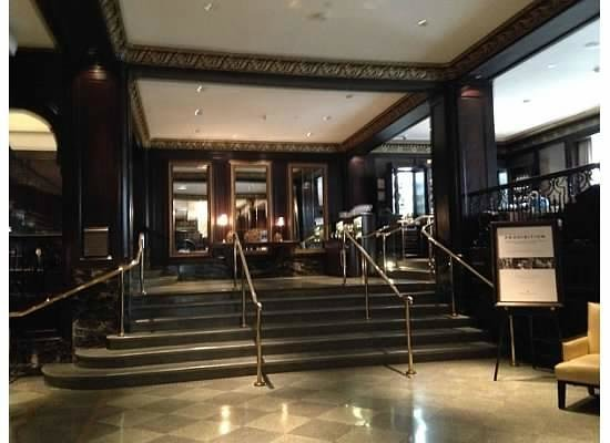 Stairs To Restaurant In Lobby Picture Of Rosewood Hotel