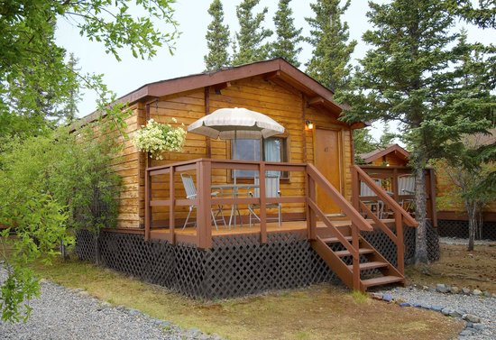 Lounge learn picture of denali cabins denali national for Denali national park cabins