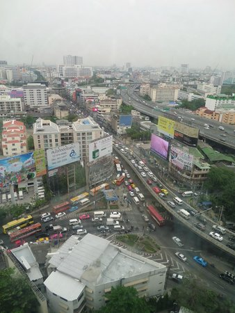 Century Park Hotel: View from room