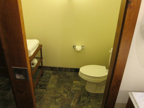 Stowe Mountain Lodge: Separate toilet area in bathroom