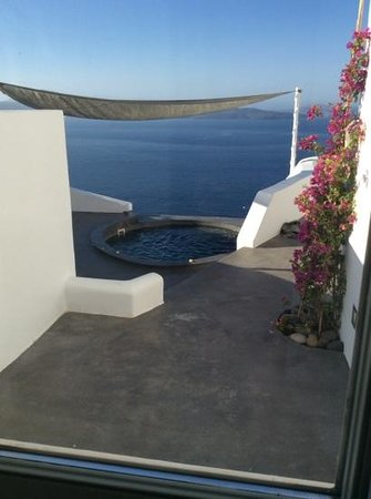 Andronis Luxury Suites: odyseas, number 22 - a room with a view