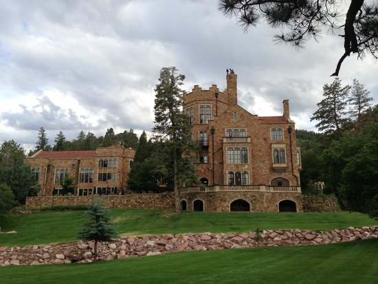 Big Hall Fireplace Picture Of Glen Eyrie Castle