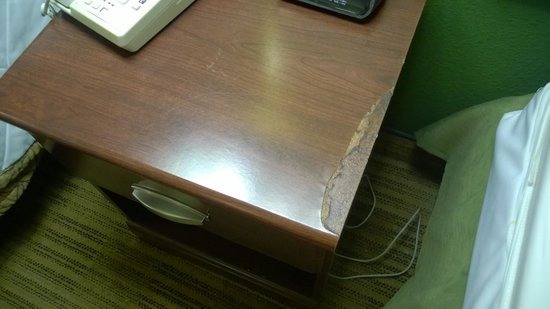 Extended Stay America - Orange County - Katella Ave.: Disgusting furniture