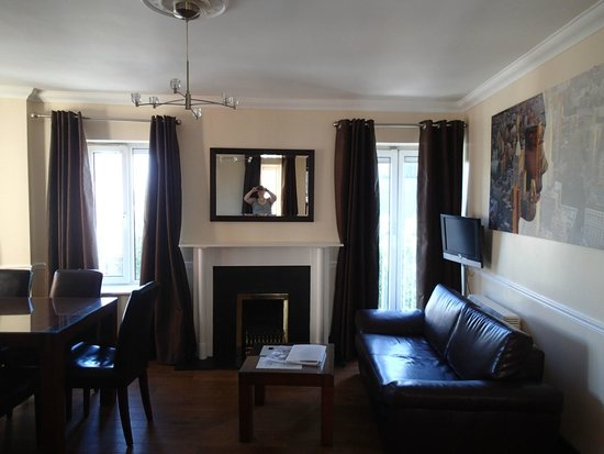 Living Room Picture Of Staycity Serviced Apartments Christchurch Dublin Tripadvisor