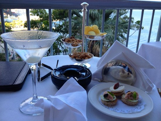 Belmond Reid's Palace: A formidably dry martini on the famous terrace