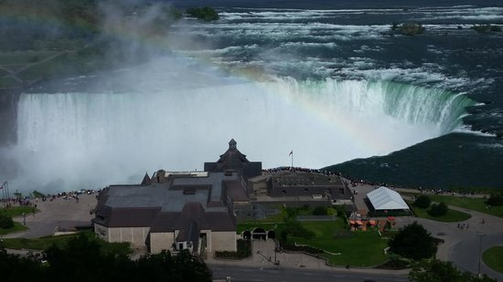 Niagara Falls: View from the room