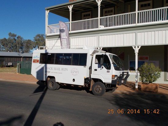 Heritage Hotel And Tour Bus Used For Outback Mail Run