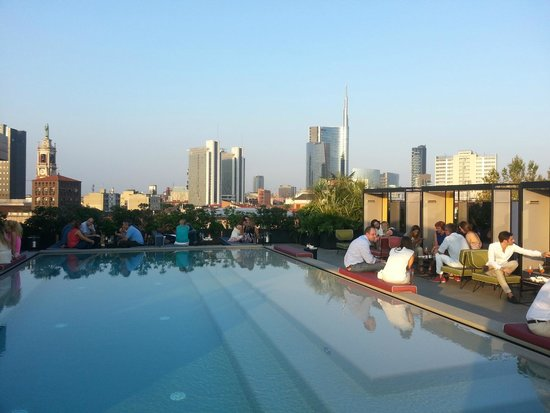 Skyline foto di ceresio 7 pools restaurant milano for Ceresio 7 ristorante milano